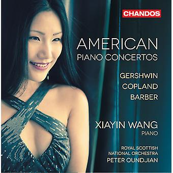 Gershwin/Copland/coiffeur - importation USA American Piano Concertos [SACD]