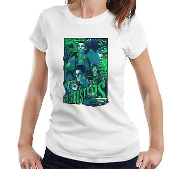 Ghostbusters Comic Style Poster Women's T-Shirt