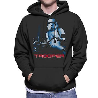 Felpa con cappuccio originale Stormtrooper The Trooper Action Sci Fi Parody Men's Hooded