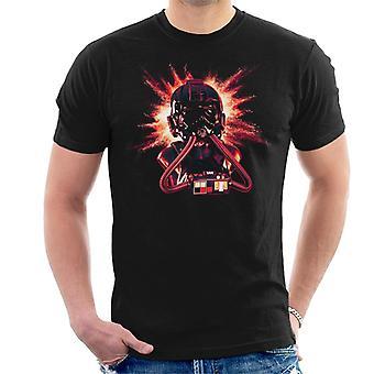 Opprinnelige Stormtrooper Imperial Pilot TIE hjelm eksplosjon menn t-skjorte
