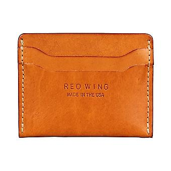 Red Wing Card Holder Stack Unisex Wallet in Tan