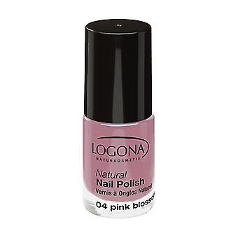 Natural nail polish n ° 04 pink blossom 4 ml (Pink)