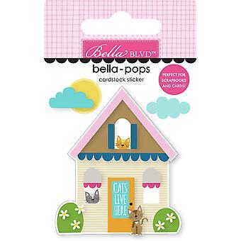 Bella Blvd Cat House Bella-Pops (3kpl) (BB2281)
