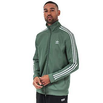 Men's adidas Originals Beckenbauer Track Top in Green