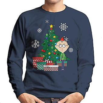 M. Mackey Autour de the Christmas Tree South Park Men-apos;s Sweatshirt