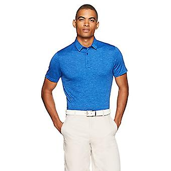 Chemise Polo Tech Stretch Essentials Men-apos;s Tech, Royal Blue Heather, X-Large