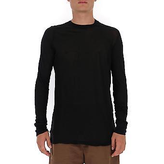 Rick Owens Ru20f3266uc09 Men's Black Cotton Sweater