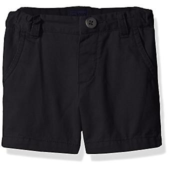 The Children's Place Baby Boys' Toddler Chino Shorts, New Navy 45119, 4T