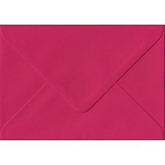 Rosa fucsia gommato C7/A7 colorati rosa buste. 100gsm carta sostenibile FSC. 82 mm x 113 mm. busta di stile del banchiere.