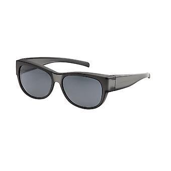 Sunglasses Unisex black with grey lens VZ0023M1