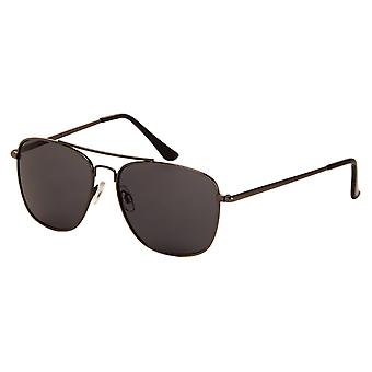 Sunglasses Unisex Grey with Grey Lens (7180P)