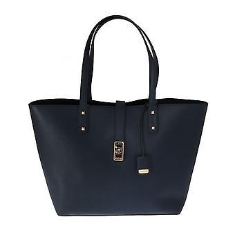 Michael Kors Blue Karson Leather Tote Bag MK5070