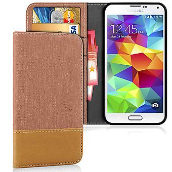 Wallet Case Case Case for Samsung Galaxy S5 Mini Card Holder TPU Protection Shockproof