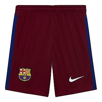 2020-2021 Barcelona Away Goalkeeper Shorts (Red) - Kids