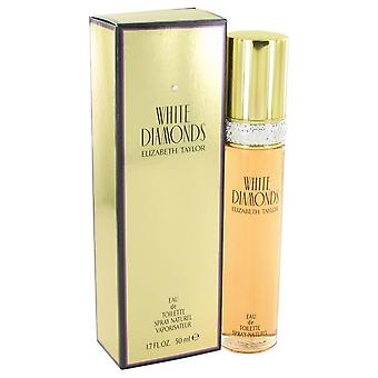 White Diamonds Eau De Toilette Spray By Elizabeth Taylor 1.7 oz Eau De Toilette Spray
