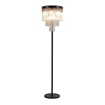 Luminosa Valaistus - Lattiavalaisin, 9 Light E14, Ruskea oksidi