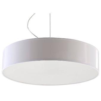 Sollux ARENA - 3 Light Round Ceiling Pendant White, E27
