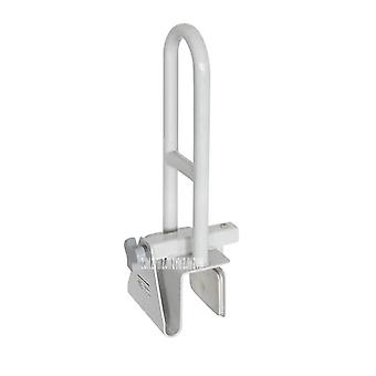 Metal Antiskid Bathtub Safety Grab Bar, Handle - Toilet, Bathroom No Punching