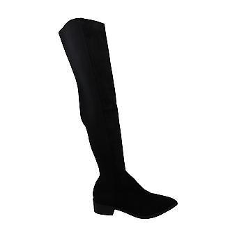 Steve Madden Jolly Over-The-Knæ boot sort 6,5 m