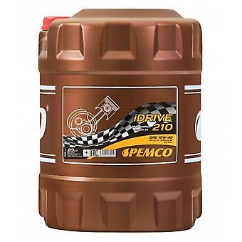 Pemco iDrive 10W40 Semi Synthetic Engine Oil 20 L DRUM API SL/CF Acea A3/B3