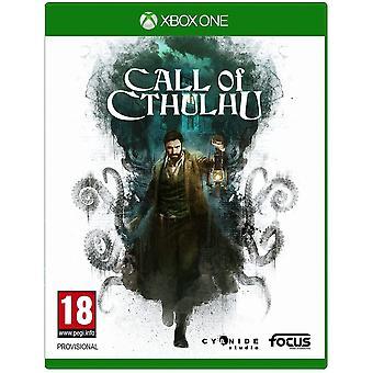 Oproep van Cthulhu Xbox een spel