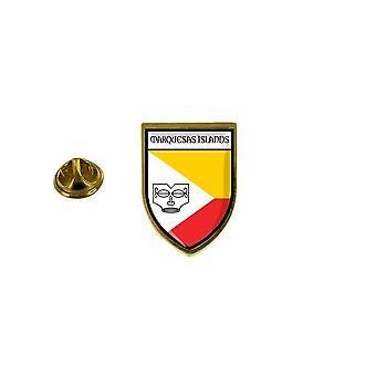 pine pine badge pine pin-apos;s vlag wapenschild markies Franse polynesië tahiti