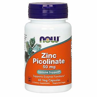 Agora alimentos Zinco Picolinate 50 mgs, 60 Caps