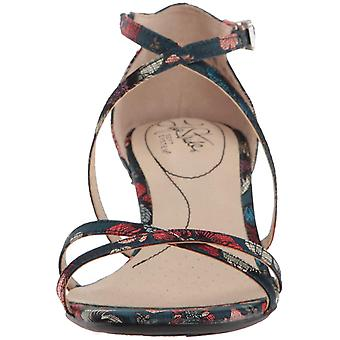 LifeStride Womens Flaunt Open Toe Casual Strappy Sandals