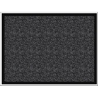 Home Label Ludlow Washable Mat Dark Grey 50 x 80cm P00014356