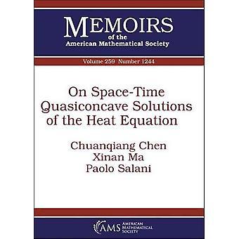 على حلول شبه الوقت الفضاء من المعادلة الحرارية من تشوانكيا
