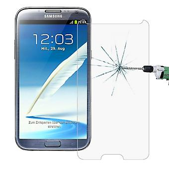 10 PCS voor Galaxy Note II / N7100 0,26 mm 9H Surface Hardness 2.5D Explosion-proof Tempered Glass Screen Film
