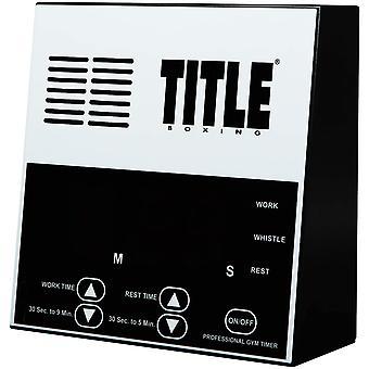 Tittelen boksing Pro Digital Gym Timer