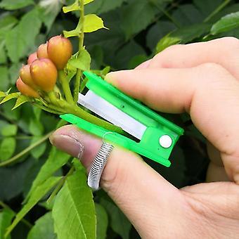 Többfunkciós thumb kés, Mini Garden Pruner-gyümölcs szedő eszköz