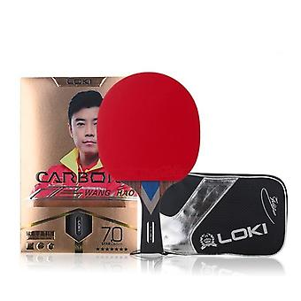 Carbon Tube Tech Ping Pong Paddle Bordtennis Racket