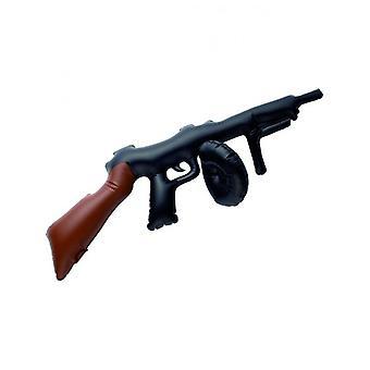 Henbrandt x99 074 arma inflável tommy 80cm, preto