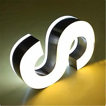 Double Sided Lighted Sign, Acrylic Led Channel Letters For Advertising