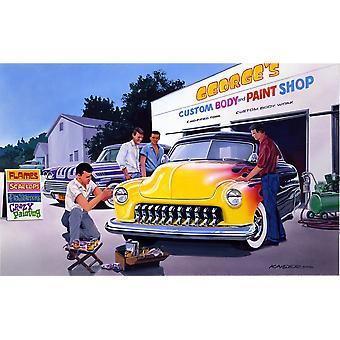 Paint Shop Poster Print by Bruce Kaiser