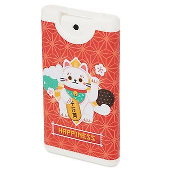 Maneki neko lucky cat spray hand sanitisers