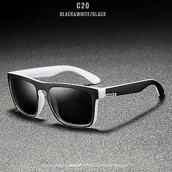 Spejl polariserede mænd Ultralight Frame Square Sport solbriller