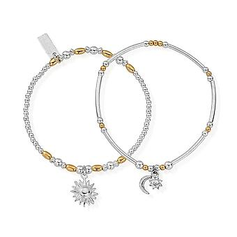 ChloBo Gold And Silver Dusk To Dawn Set Of 2 GMBSET578582