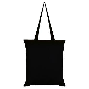 Grindstore Ziege Schädel Pentagramm Einkaufstasche