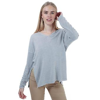 Women's Only Amalia V-Neck Jumper in Grijs