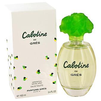 CABOTINE Eau De Toilette Spray por Parfums Gres 3.3 oz Eau De Toilette Spray