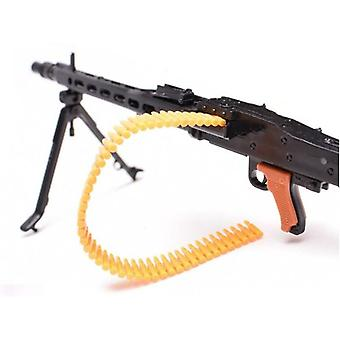 1:6 1/6 Scale Mg42 Heavy Machine Gun+bullet Belt (white)