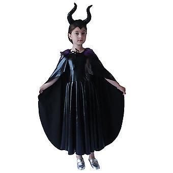 Böse Königin Tutu Kleid, Maleficent Hexe Cosplay Kostüm für Party Halloween