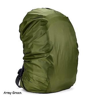 Capa de chuva de poeira impermeável Mochila portátil Viagem Mochila Camping Rucksack