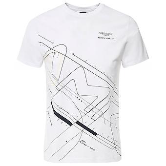 Hackett AMR Camiseta geométrica