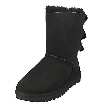 UGG Bailey Bow 2 Womens Casual Boots in Black