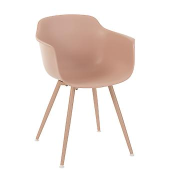 Chaise J-Line Nude Rose