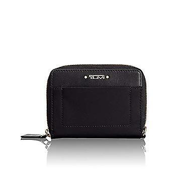 Tumi Voyageur SLG Tri-Fold Zip-Around Wallet Credit Card Port, 12 cm, Black